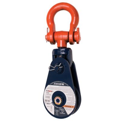 Snatch Block McKissick 419 with Shackle - Light Champion
