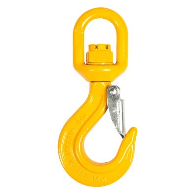 Latch hook with swivel, grade 80